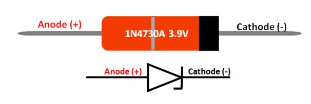 3 9v zener diode 1n4730a pin diagram equivalent datasheet. Black Bedroom Furniture Sets. Home Design Ideas