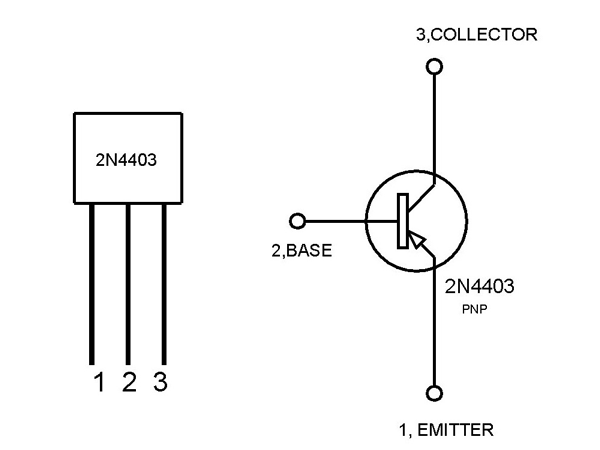2n4403 Pnp Switching Transistor