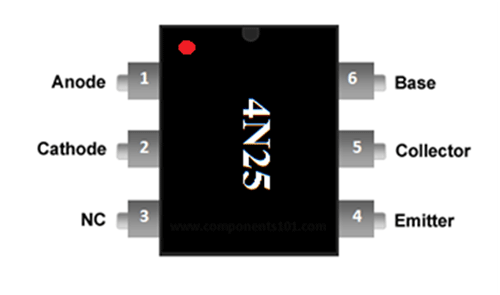 Outstanding 4N25 Optocoupler Ic Pinout Specifications Equivalent Uses Datasheet Wiring Cloud Oideiuggs Outletorg