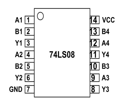 74ls08 And Gate Ic Pinout Datasheet