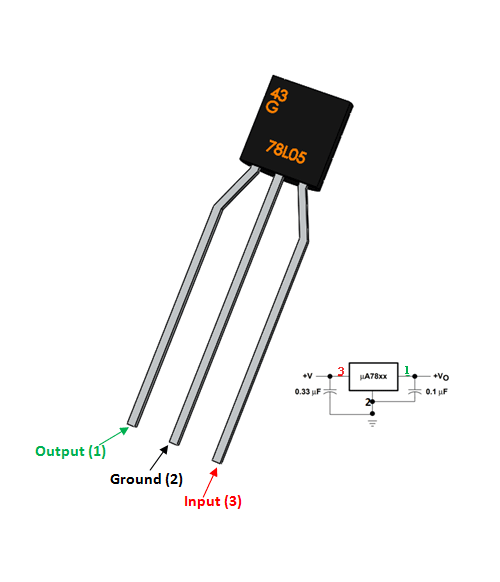78l05 voltage regulator pinout  features  equivalent