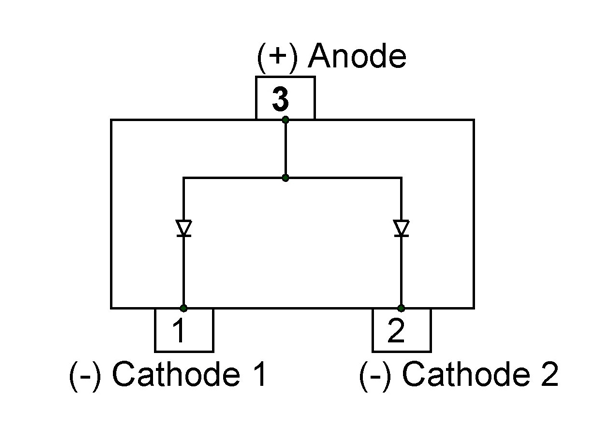 bat54a schottky diode pinout equivalent datasheet. Black Bedroom Furniture Sets. Home Design Ideas