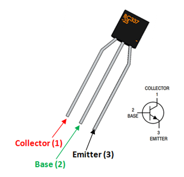 BC337 Transistor Pinout, Datasheet, Equivalent & Features