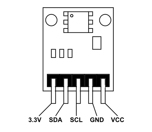BMP180 Sensor Pinout, Configuration, Specifications, Circuit