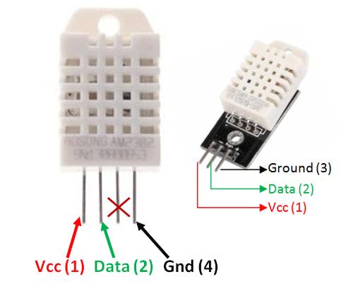DHT22 Sensor Pinout, Specs, Equivalents, Circuit & Datasheet