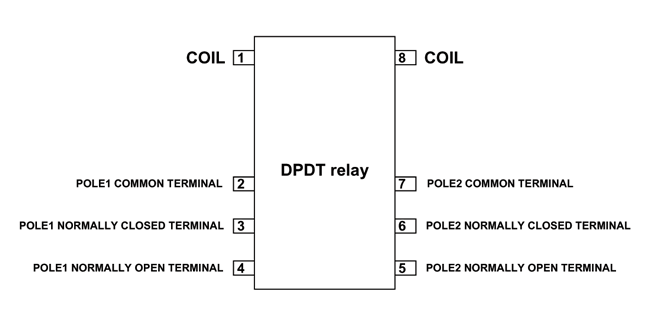 hk19f dpdt relay pinout features equivalents working datasheet rh components101 com