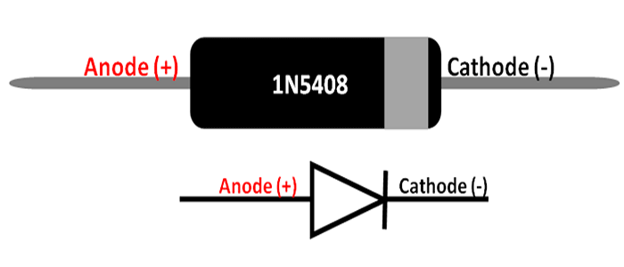 IN5804 Diode Pinout