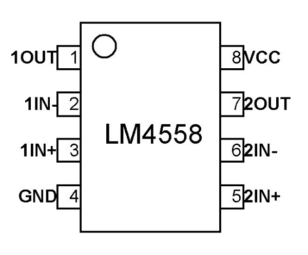 Op Amp Pin Diagram - Wiring Diagrams List