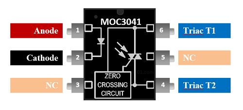 5 Stücke MOC3083 SOP-6 Fsc Nullkreuz Triac Fahrer Optoisolator New Ic uy