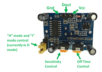 PIR Sensor Pin Diagram