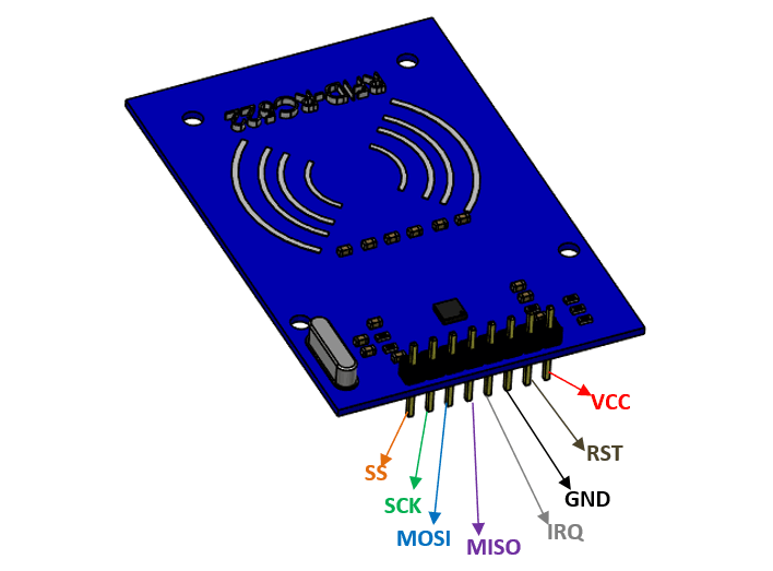 RC522 RFID Module Pinout, Features, Specs & How to Use It