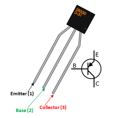 S8550 Transistor Pinout Datasheet Features Sample Circuit