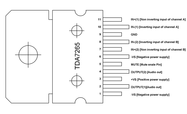 25w Subwoofer Circuit Diagrams - Wiring Diagram G11