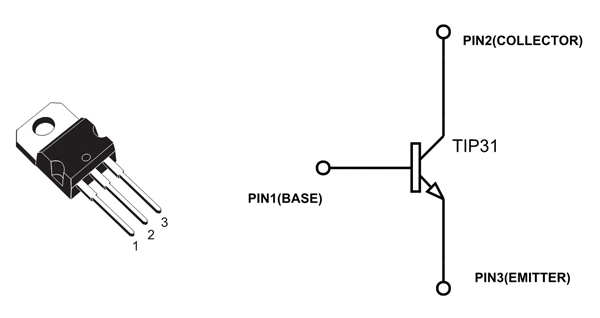 Superb Tip31C Transistor Pinout Configuration Equivalent Circuit Datasheet Wiring Cloud Brecesaoduqqnet