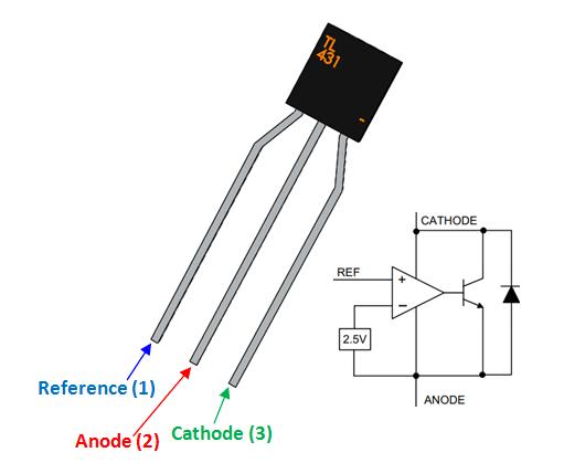 tl431 regulator pinout  features  u0026 datasheet