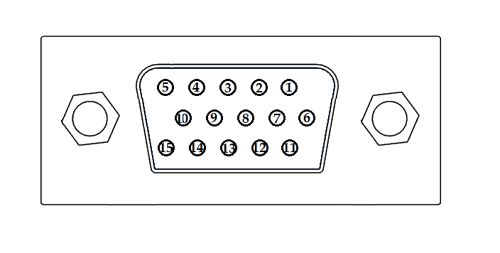 VGA Connector Pinout, Features & Datasheet