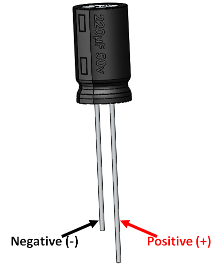 Electrolytic Capacitor Pinout