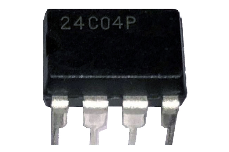 24C04 Two-Wire Serial EEPROM