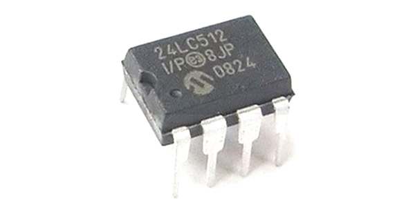 24lc512 eeprom ic pinout features equivalent datasheet rh components101 com EEPROM Programmer DDR RAM