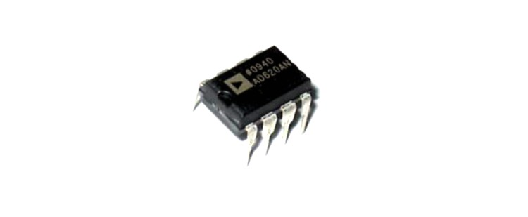 AD620 Instrumentation Amplifier IC
