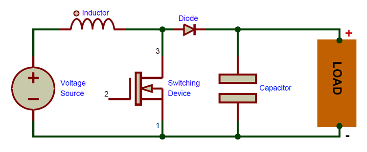 What is Boost Converter? Basics, Working, Operation & Design