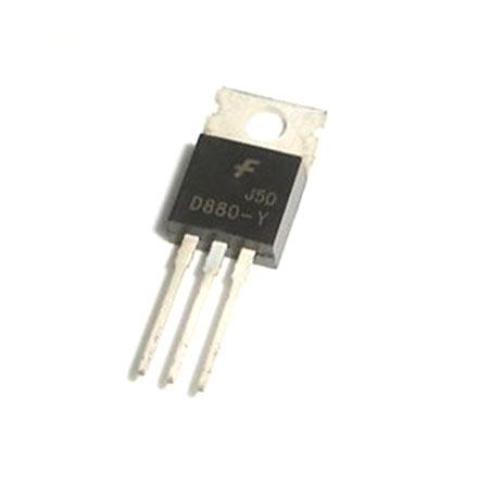 D880 Transistor Pinout, Features, Equivalent & Datasheet