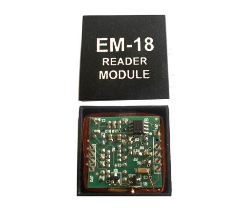 EM18 - RFID Reader Module Pinout, Equivalents, Circuit