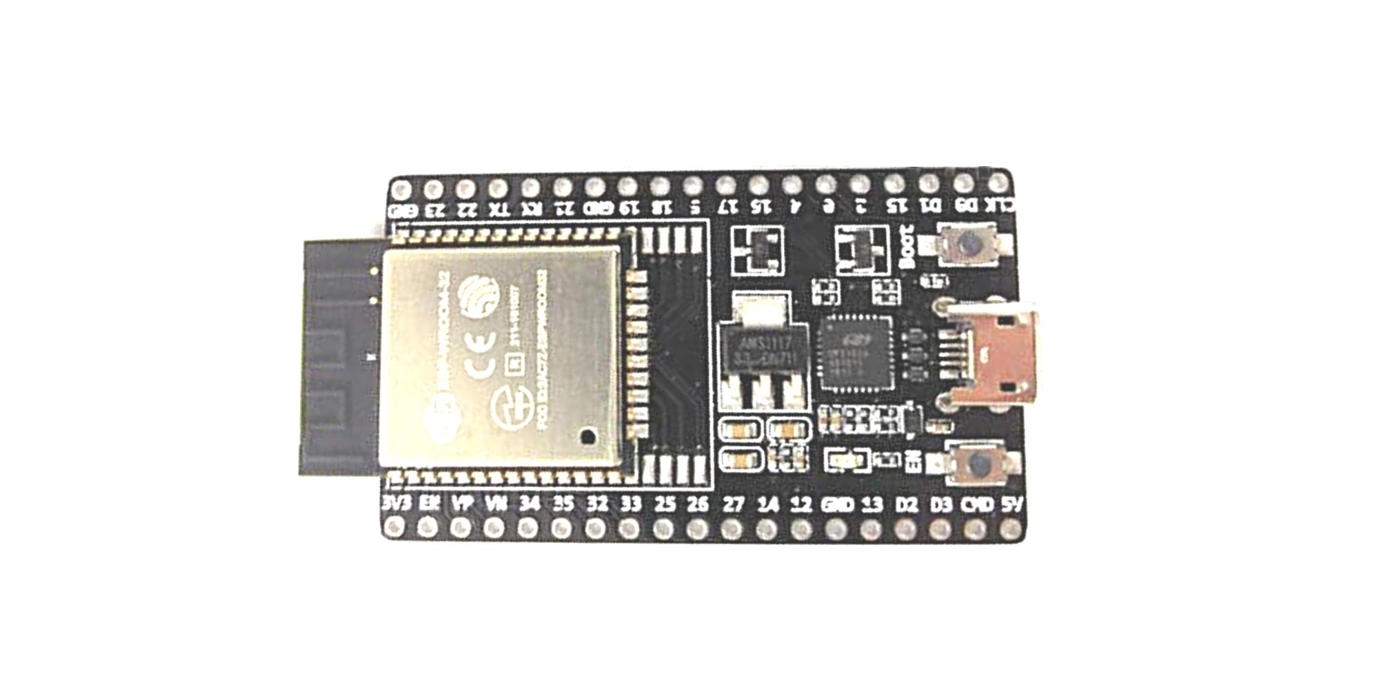 ESP32 DevKitC Pinout, Overview, Features & Datasheet on
