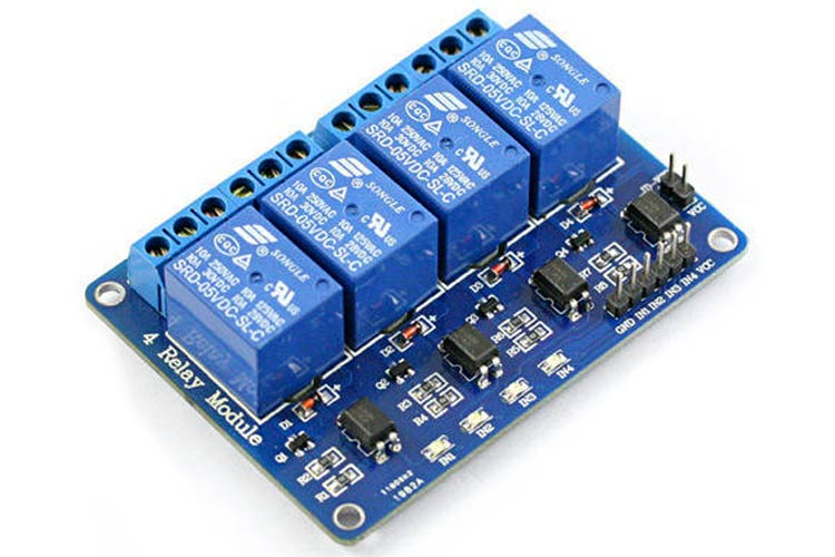 5V Four-Channel Relay Module
