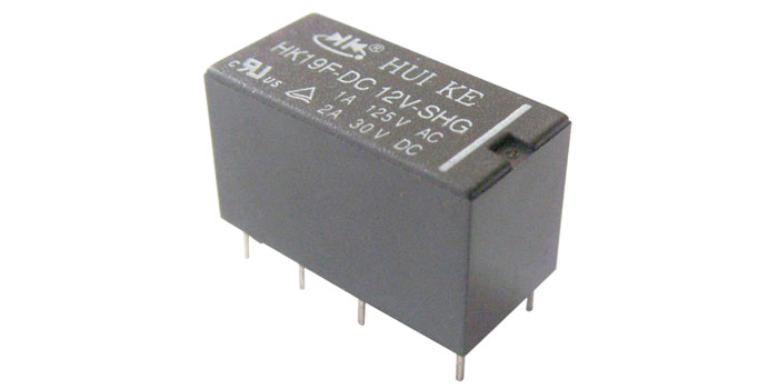 HK19F DPDT Relay Pinout Features Equivalents Working Datasheet