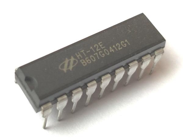 HT12E Encoder IC Pin Diagram, Uses, Equivalents & Datasheet