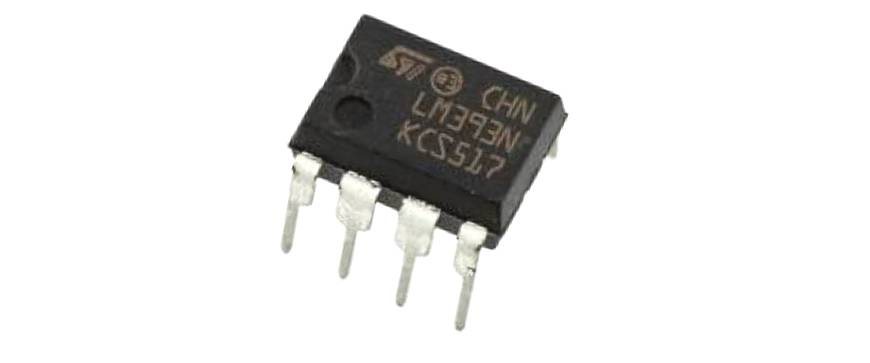 LM393 - Low Offset Voltage Dual Comparator IC