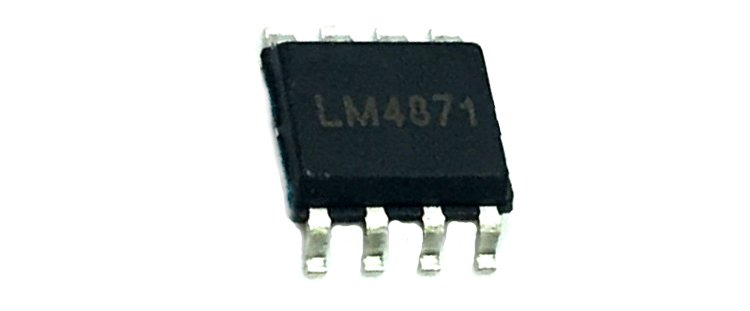 LM4871 Audio Amplifier IC