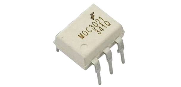 MOC3021 Triac Driven Optoisolator