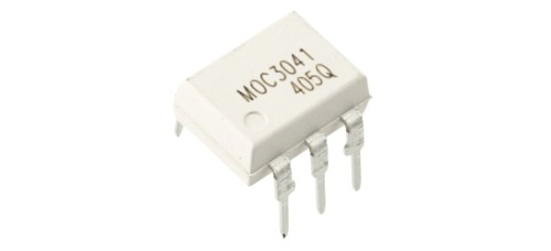MOC3041 Zero-Cross TRIAC Driven Optocoupler