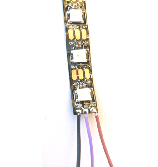 NeoPixel LED Strip Pinout, Connections, Features & Datasheet