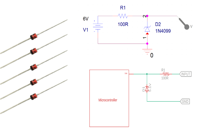 Designing A Simple Over Voltage Protection Circuit Using Zener Diodes