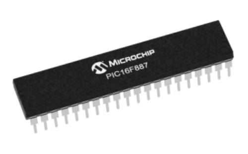 PIC16F887 Microcontroller
