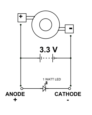 1 watt led pinout features uses datasheet. Black Bedroom Furniture Sets. Home Design Ideas