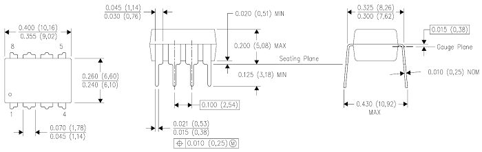 RC4558 IC Pinout, Specifications, Equivalent & Datasheet