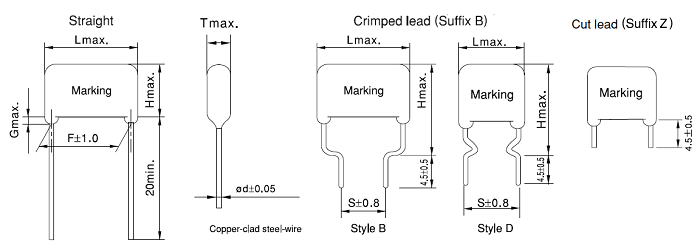 2D Model Of X Rated Capacitor