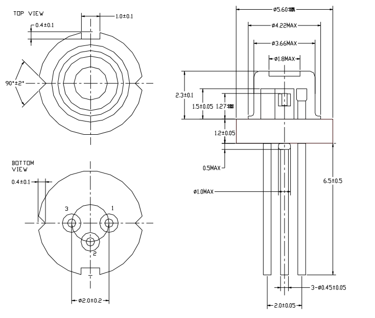 laser diode  650nm   features  specifications  u0026 datasheet
