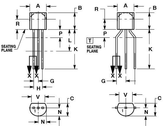 2n222 pinout for wiring diagrams