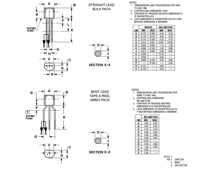2n4403 transistor pinout  features  equivalent  circuit