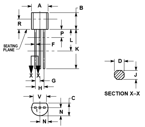 2n5088 transistor pinout  features  equivalent  u0026 datasheet