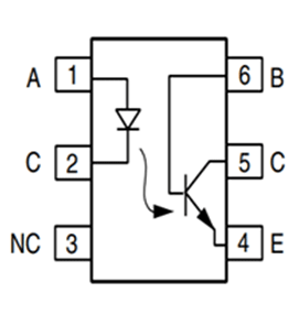 4N25 IC Internal Structure