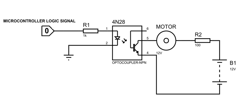 4n28 Optocoupler Pinout  Datasheet  Equivalents  U0026 Features