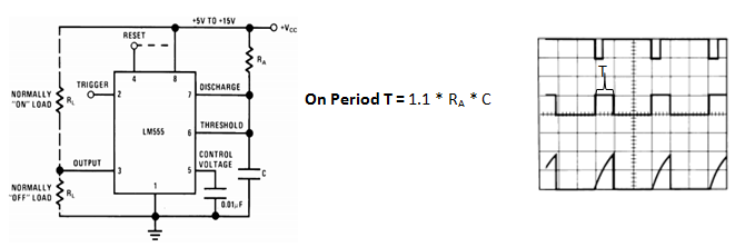 555 Timer IC: Pinout, Diagrams, Features, Operating Modes ... on