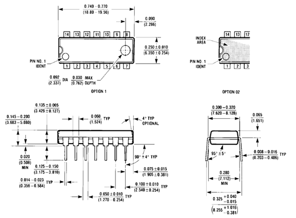 74ls02 Nor Gate Ic Pinout Features Equivalents Circuit Datasheet
