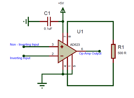 AD623 Circuit Diagram